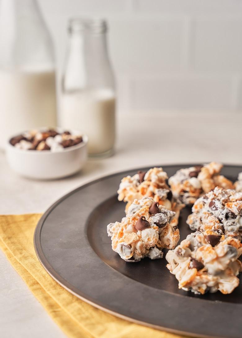 Fudge Sundae Cluster Cookies