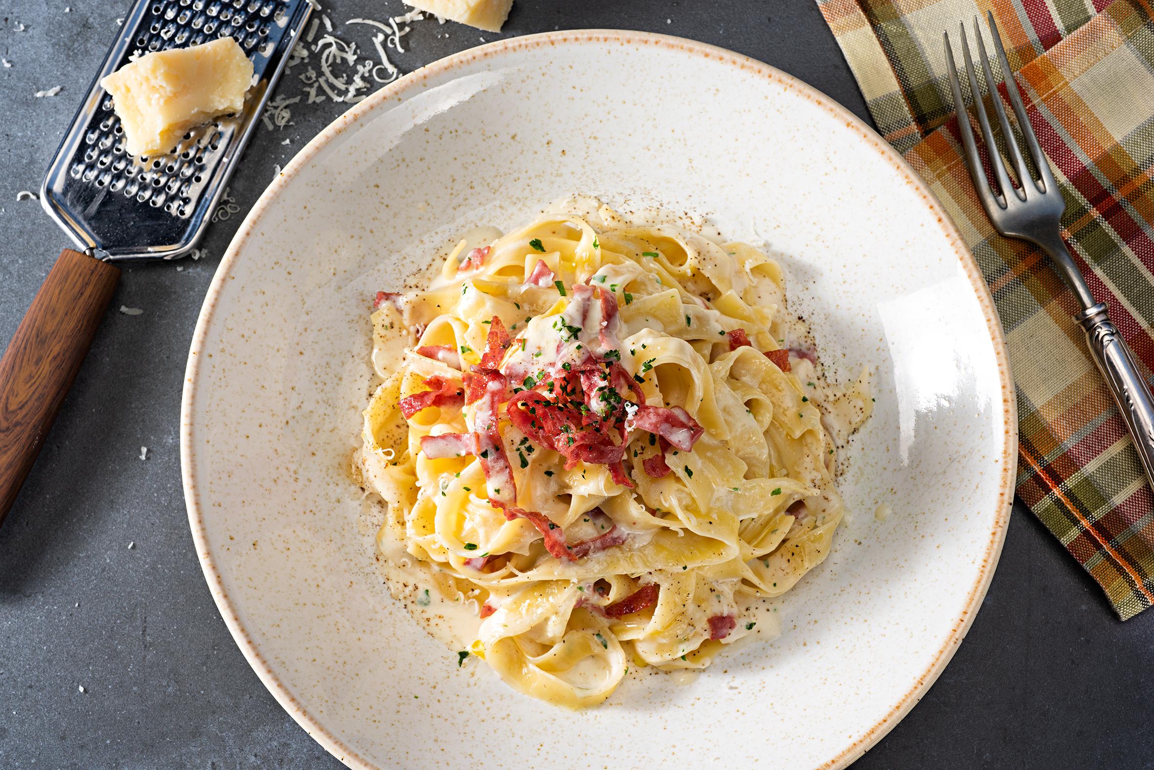 Prosciutto and Parmesan Pasta