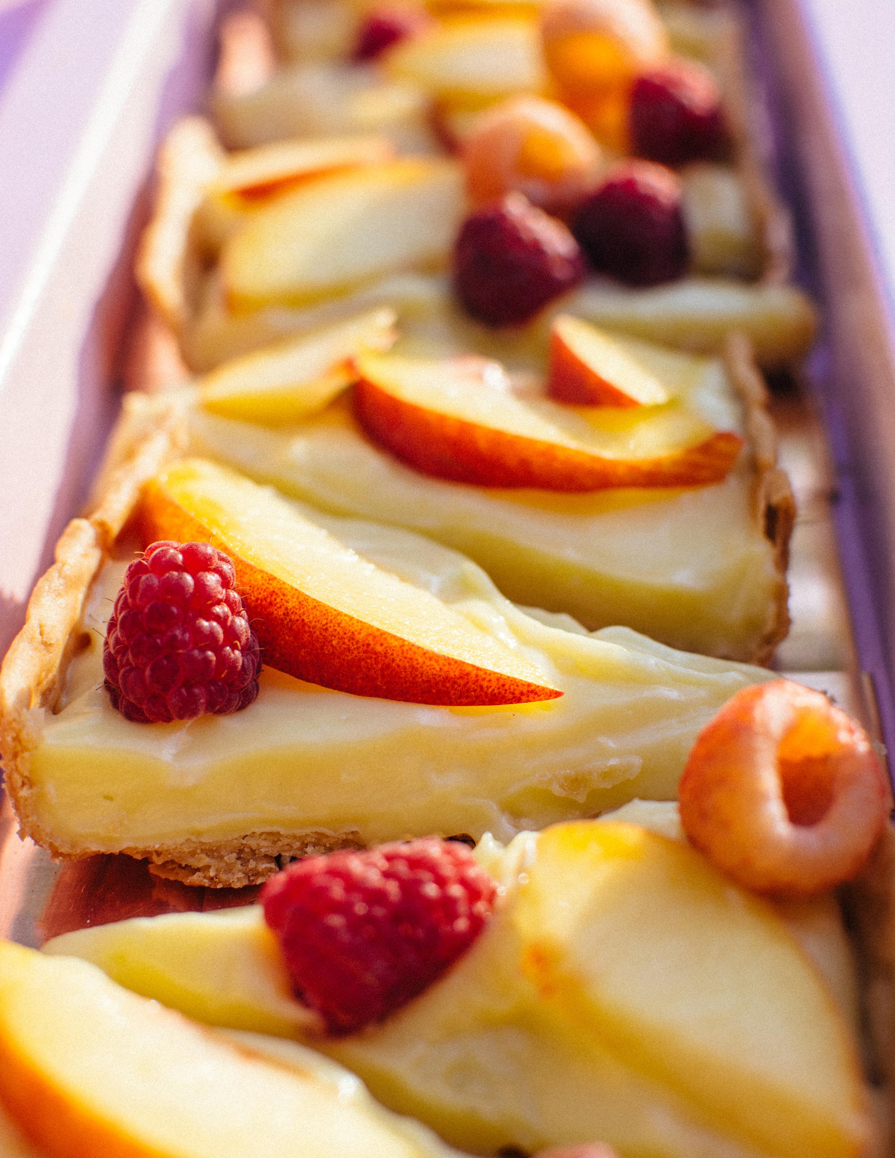 Easy Custard Fruit Tart