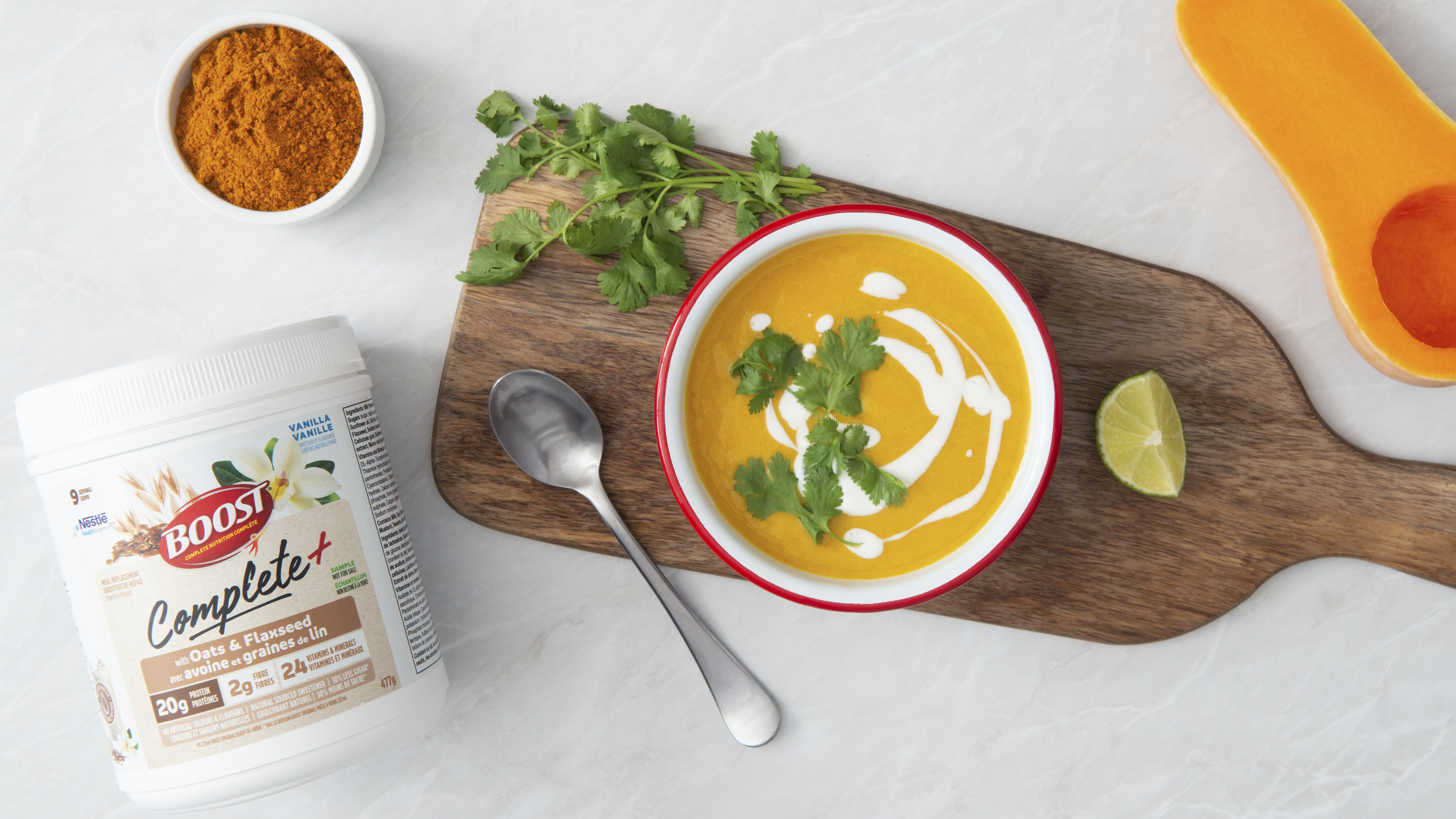 Butternut Squash Curry Soup