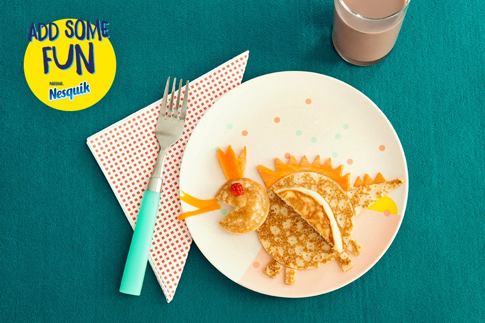 NESQUIK Dragon Pancake