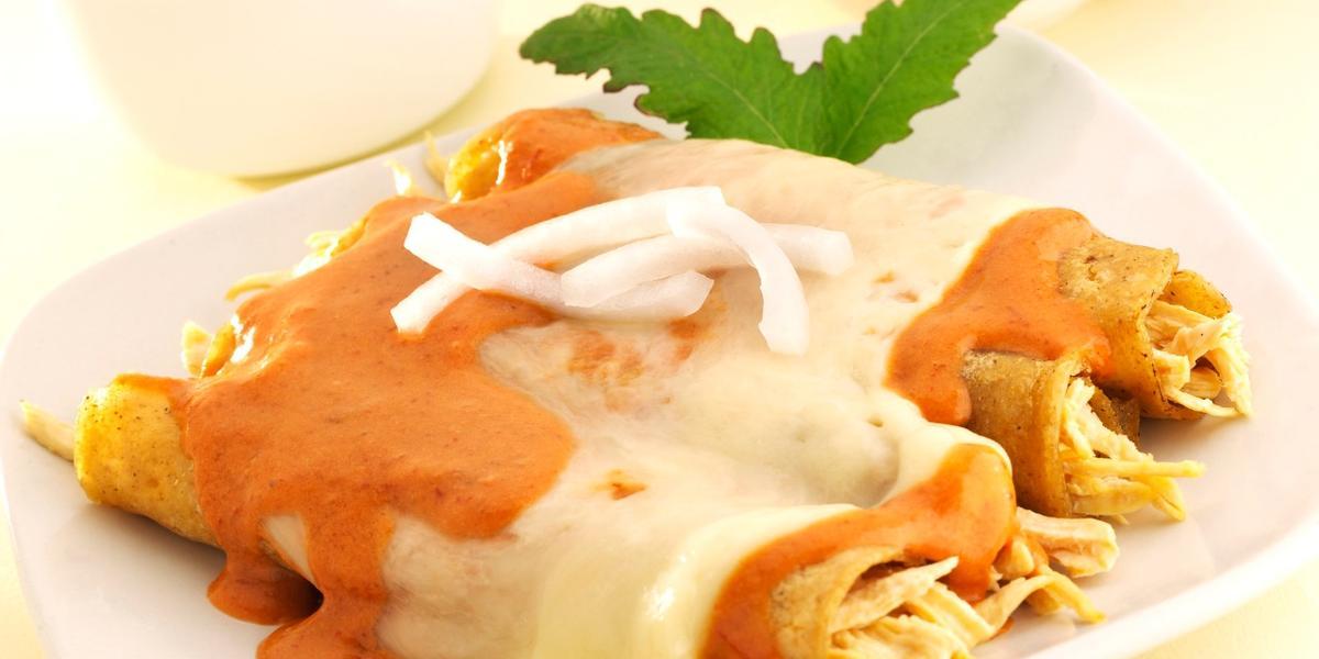 Enchiladas cremosas