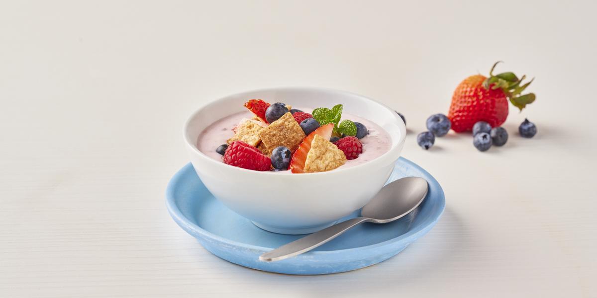 Bowl de yogurt con cereal
