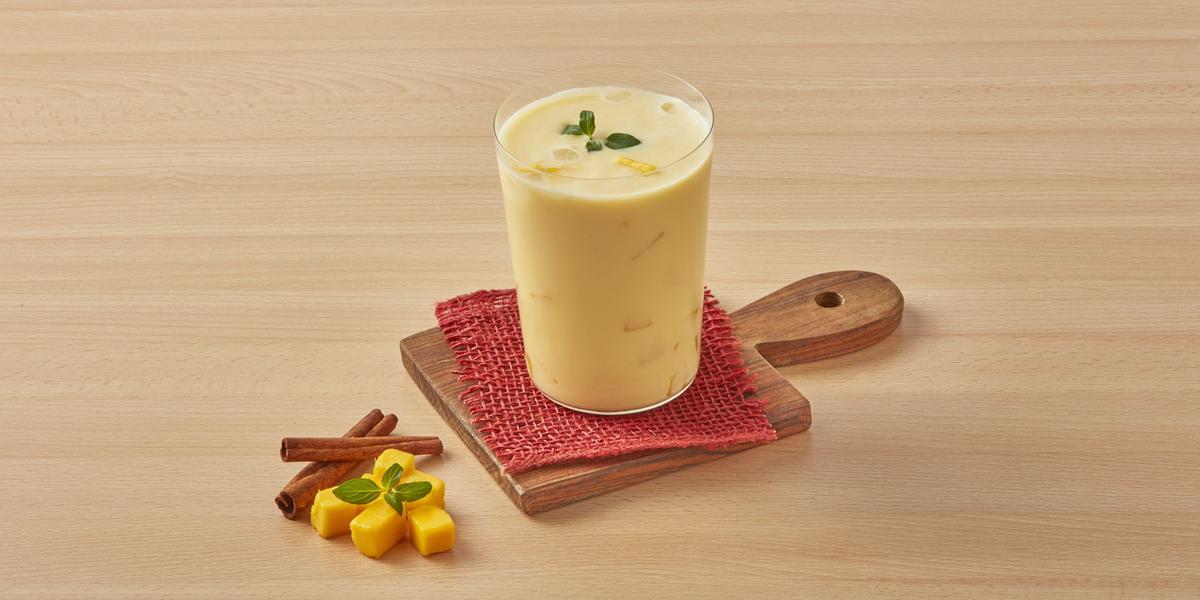 Horchata con mango