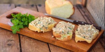 Pasta z makreli i białego sera