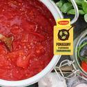 Przepis na pomidory z ziołami w słoiczkach