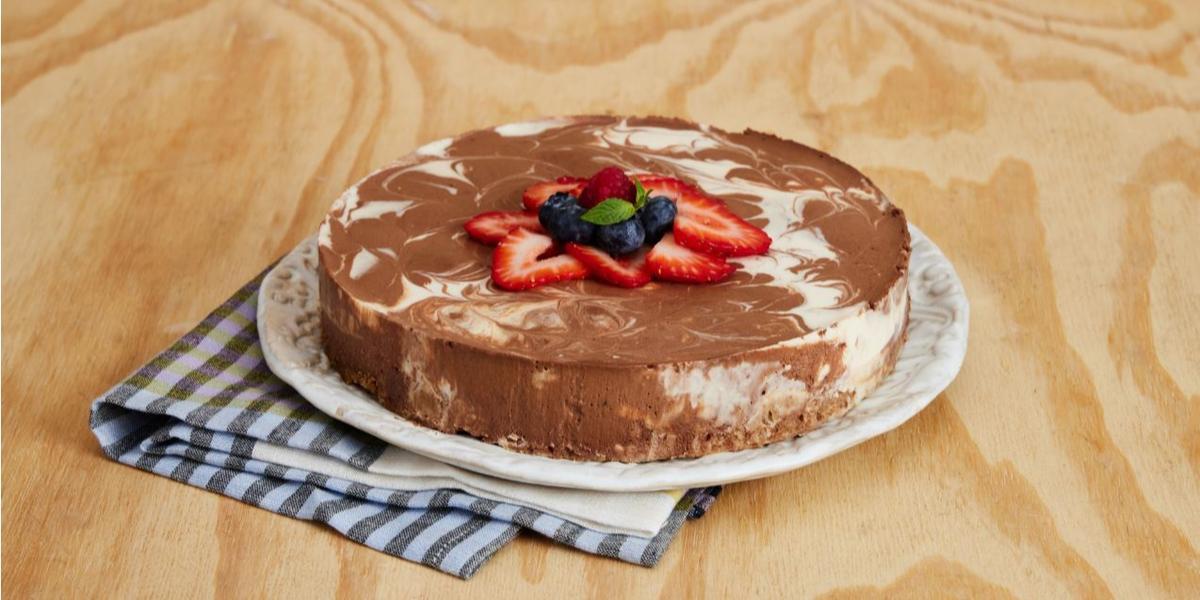 Cheesecake Marmoleado