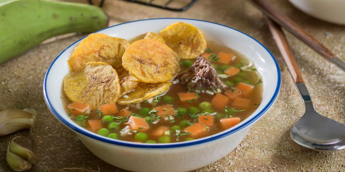 Sopa de Chifles