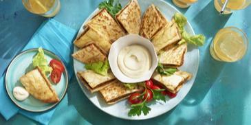 Arayes (Libanese gevulde pitabroodjes)