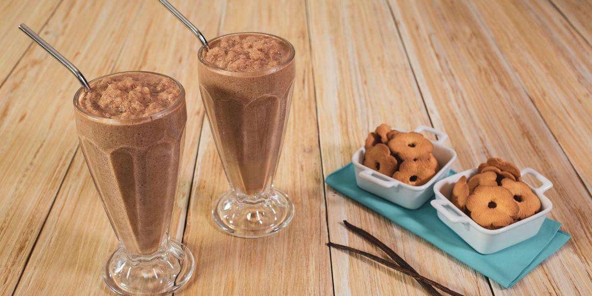 MALTEADA de CHOCOLATE preparada con