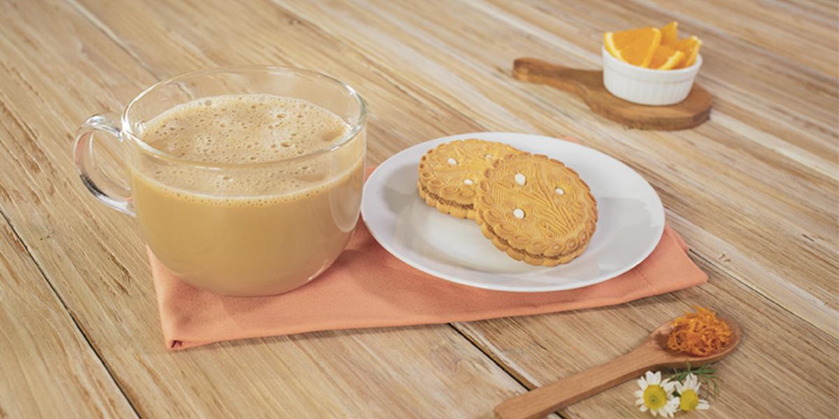 Café con manzanilla
