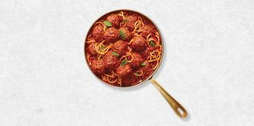 Tomato & Oregano Meatballs