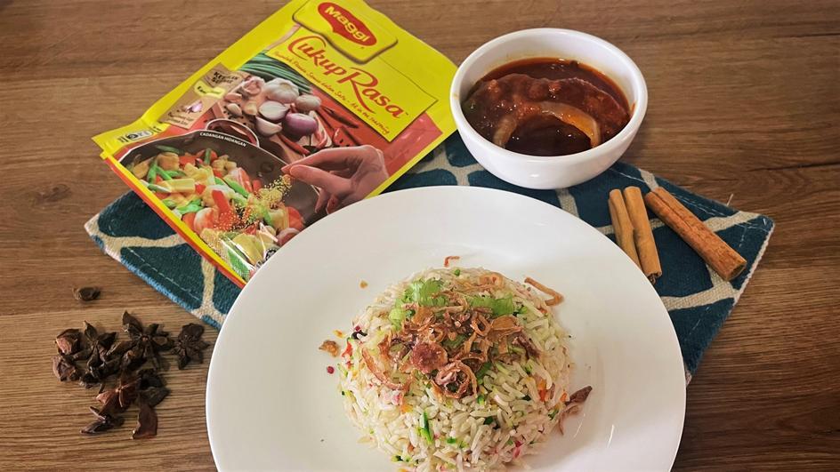 Resipi Nasi Minyak Hujan Panas
