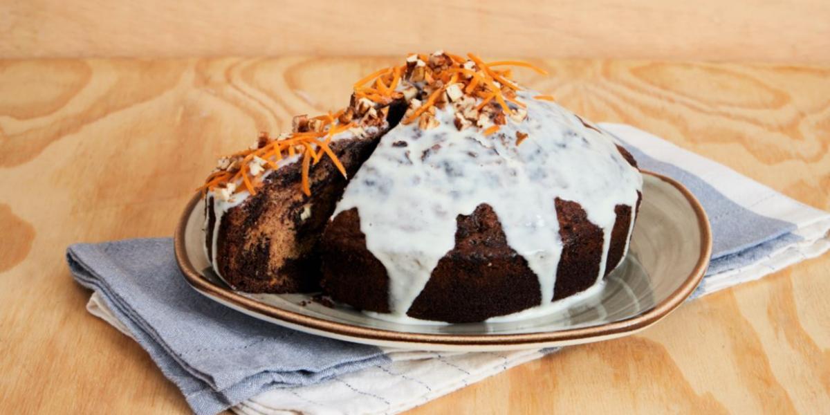 Carrot Cake Marmoleado