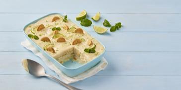 Meksykańska carlota - ciasto limonkowe