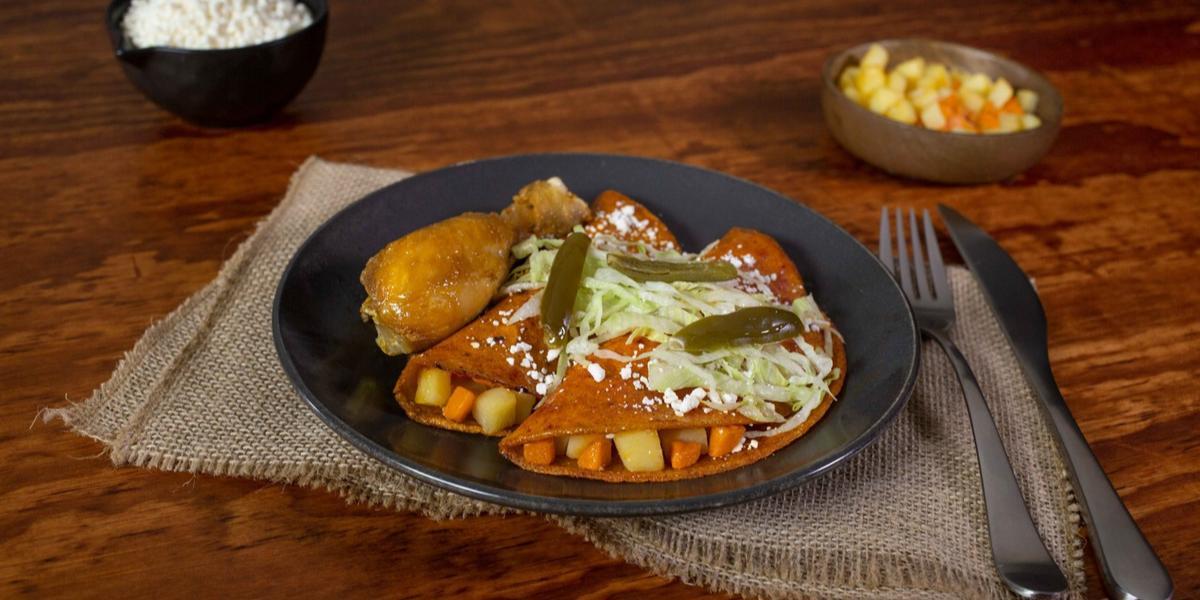 Enchiladas estilo mineras