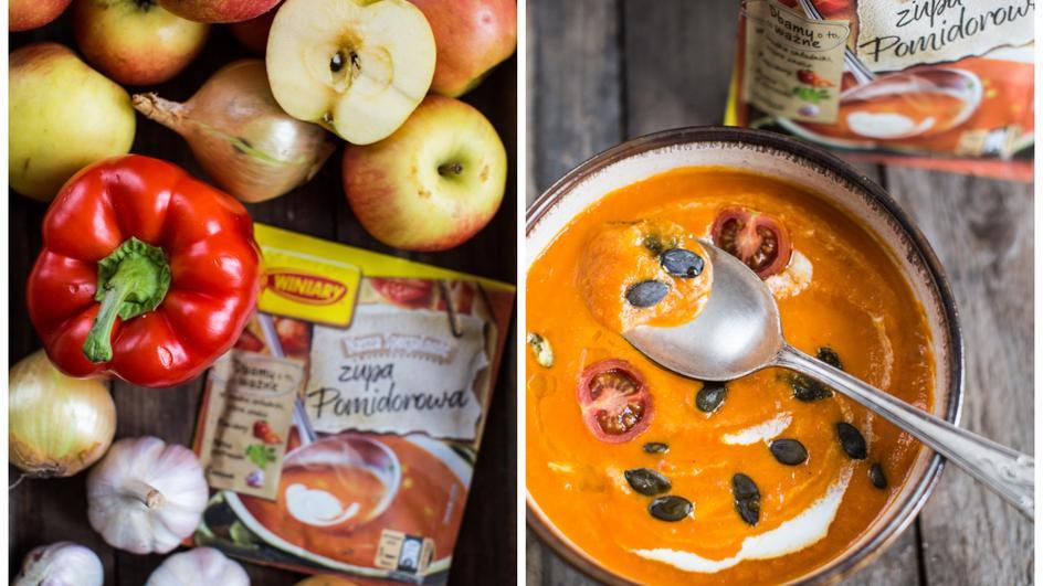 Zupa krem paprykowo-pomidorowy