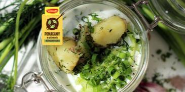 Chłodnik ogórkowy z ziemniakami