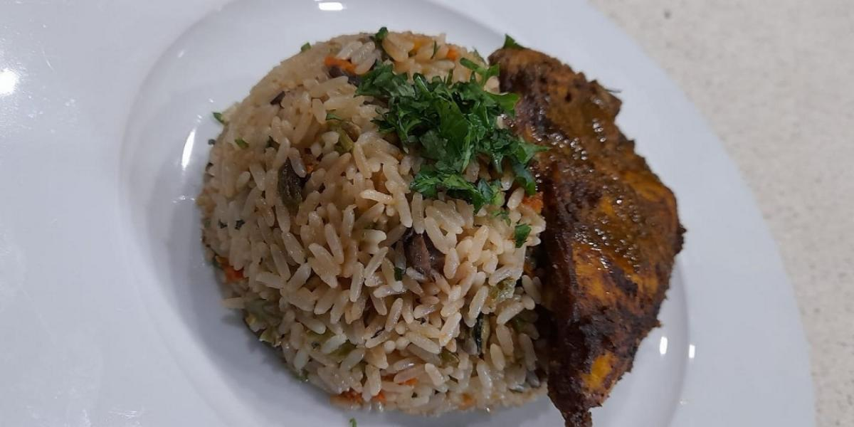 Coconut Vegetable Rice