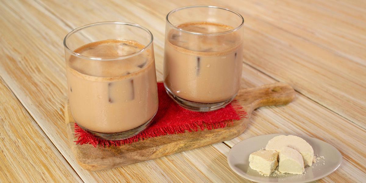 Agua de mazapán con Chocolate MORELIA PRESIDENCIAL
