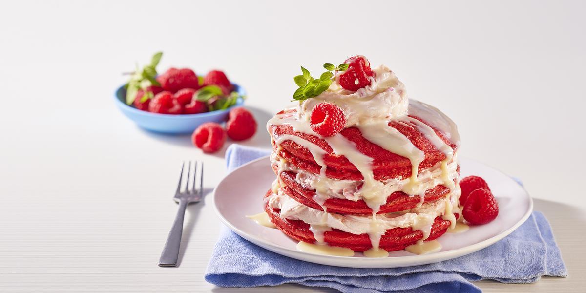 Hot cakes red velvet
