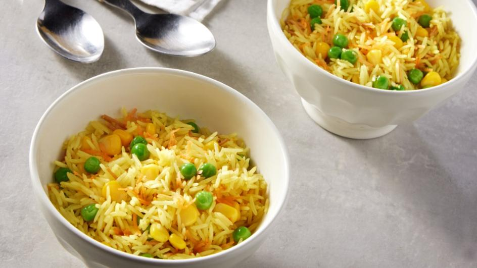 ®الأرز الكريمي مع الخضار- لوازم الأرز الكريمي مع الخضار من ماجي