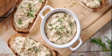Pasta z wędzonego tofu a`la makrela