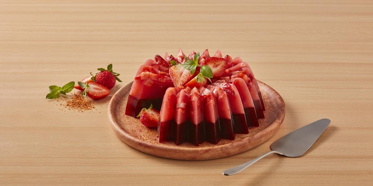 Gelatina MAGGI chili-fresa
