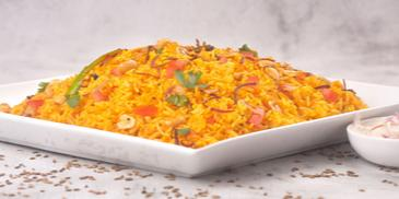 Tomato Rice with Maggi Vegetable cubes