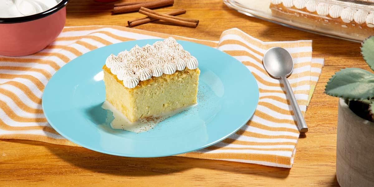 Deliciosa receta de torta de tres leches