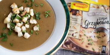 Zupa grzybowa krem z Zupą Grzybową Nasza Specjalność WINIARY
