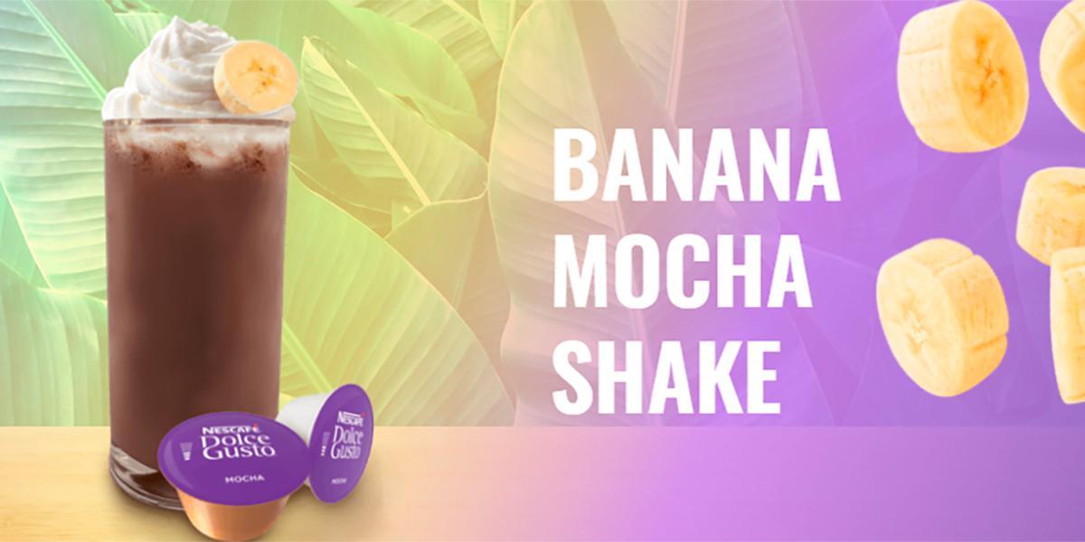 Banana mocha shake