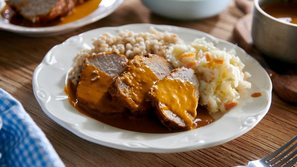 Polędwica w curry i śmietanie