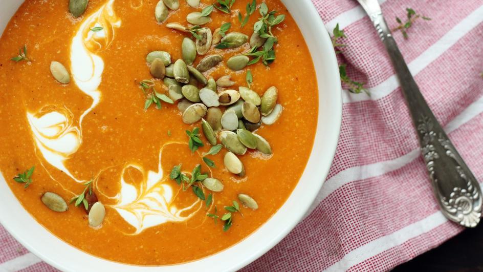 Błyskawiczna zupa krem z kukurydzy