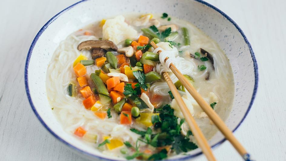 Zupa tajska wege