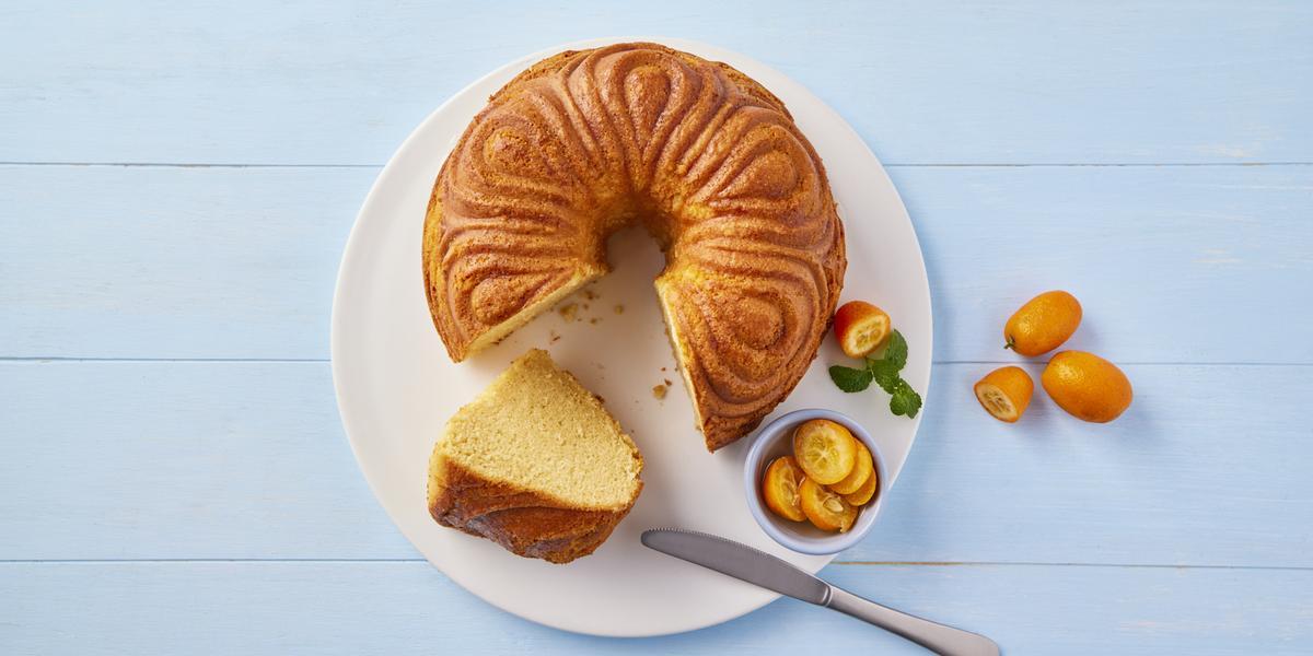Rosca de queso y mantequilla