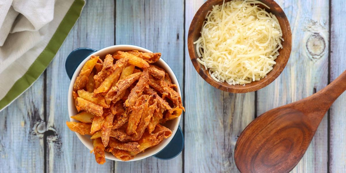 Pasta Chips Con Sabor y Color
