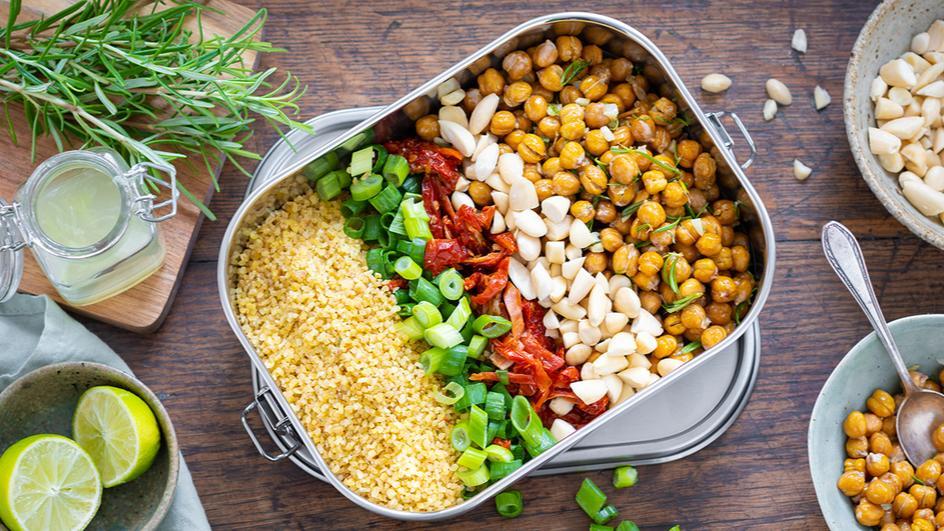 Bulgur-Kichererbsen-Salat