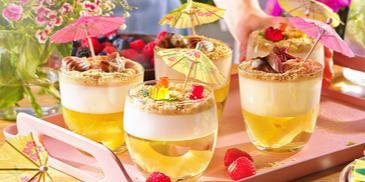 Ananasowy deser plażowy