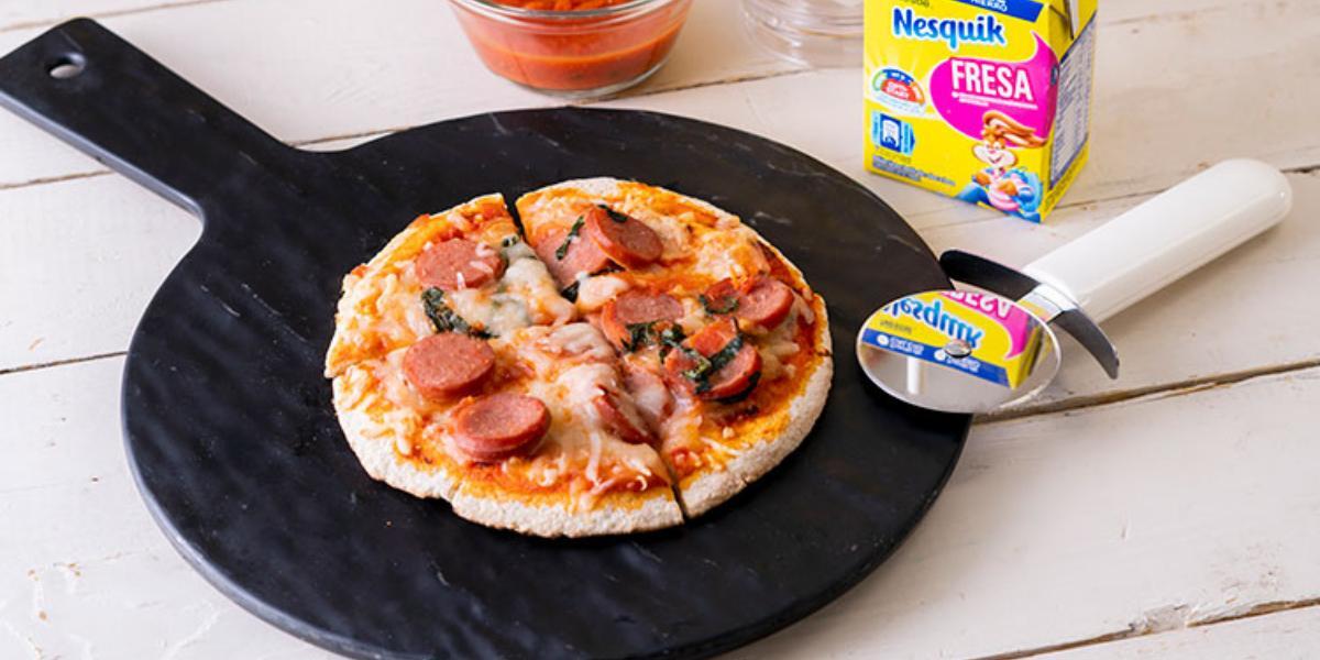 Pizzitas De Pan Pita
