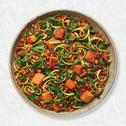 Pumpkin, Spinach & Tomato Zoodles