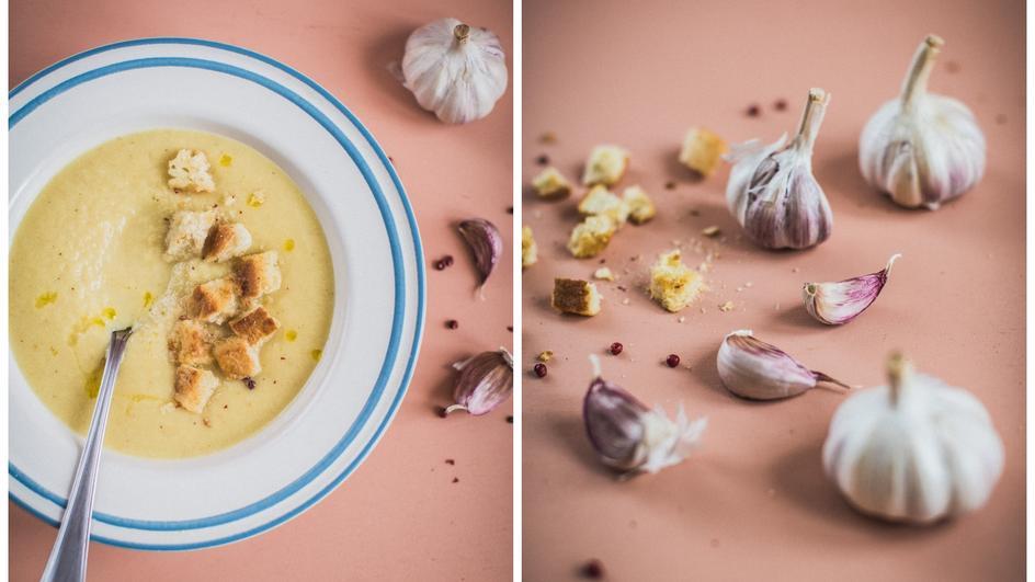 Zupa czosnkowa krem
