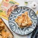 Klasszikus rakott tészta brokkolirózsával, csirkehússal