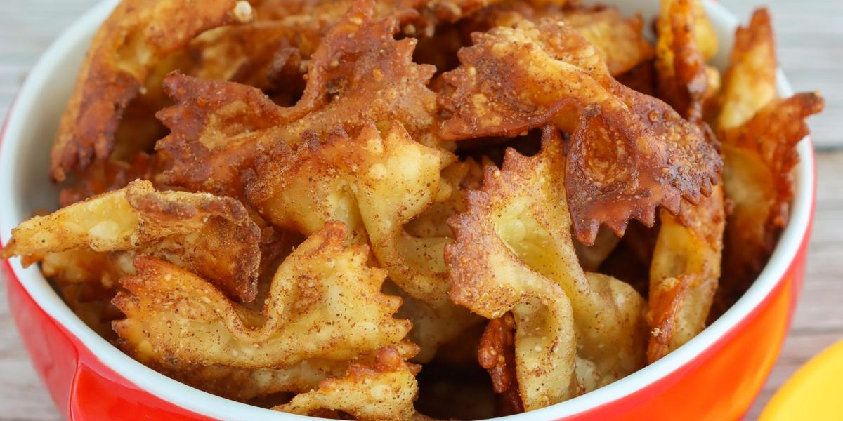 Pasta Chips con LA LECHERA