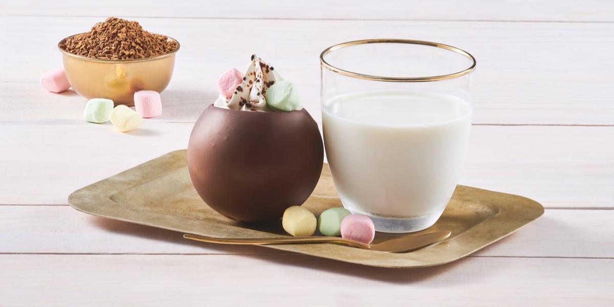 BOMBA de CHOCOLATE preparada con NESCAFÉ® TASTER'S CHOICE® Gourmet Blend.