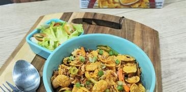 Crunchy Sambal Fried Rice