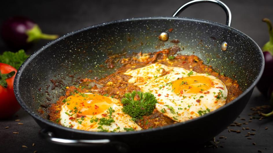 Brinjal with Eggs