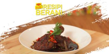 Black Pepper Spicy Soy Sauce Chicken ROSLINA