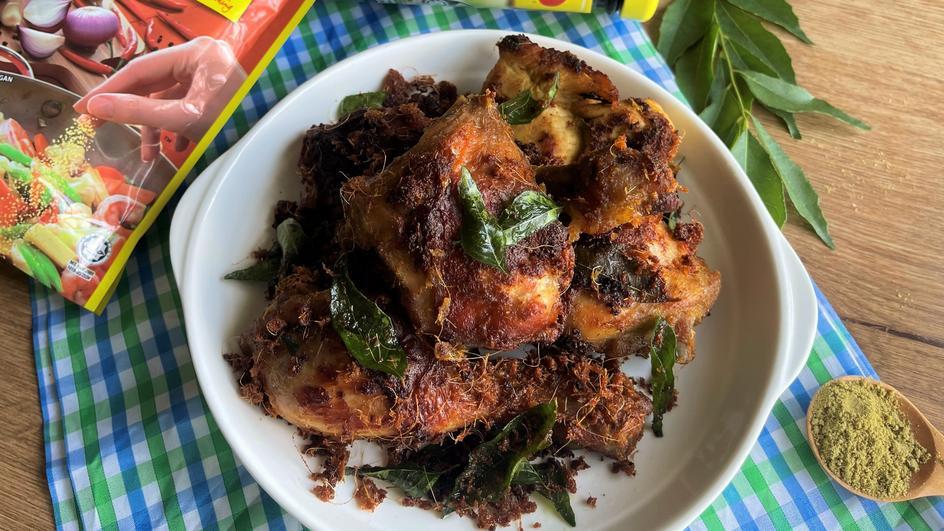 Resipi Ayam Goreng Berempah