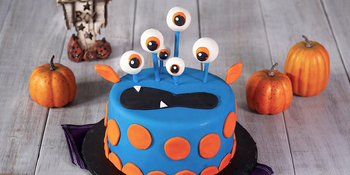 MONSTER CAKE preparado con LA LECHERA®